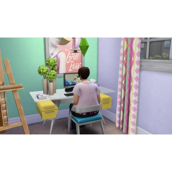 Sim playing Sims