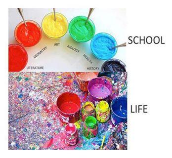 school life colors