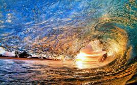 Ocean-Wave-Sunset