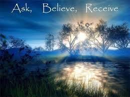 ask believe receive
