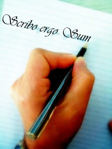 scribo-ergo-sum