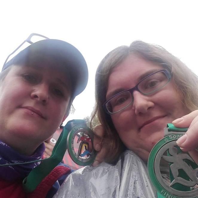 Medaillen Viertelmarathon