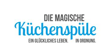 logo magische küchenspüle