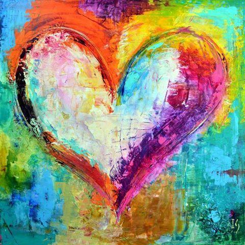 coloful heart